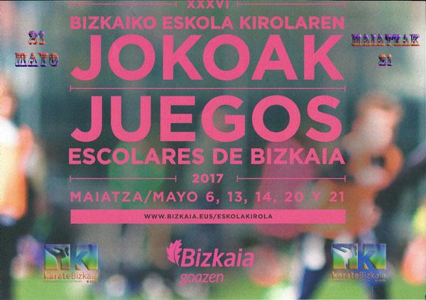 XXXVI JUEGOS ESCOLARES DE BIZKAIA 2017 foto 1